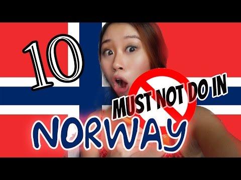 10 Must not Do in Norway 千万别在挪威犯这些十10大错误