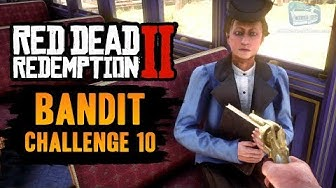 Red Dead Redemption 2 Bandit Challenge #10 Guide - Complete 5 train robberies without dying
