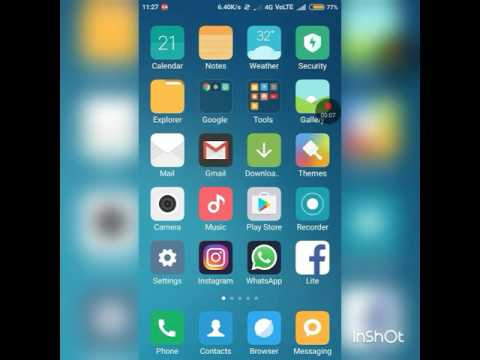 Redmi 1/2 - How to change Recent apps tray Display