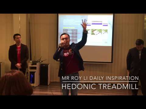 Mr Roy Li Daily Inspiration: Hedonic Treadmill
