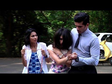 Aneri and Taher aka Nisha and Viraj of Nisha aur Uske Cousins Take a Compatibility TEST from YouTube · Duration:  5 minutes 48 seconds