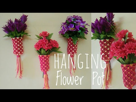 Macrame small size flower pot cup design 11 youtube macrame small size flower pot cup design 11 mightylinksfo