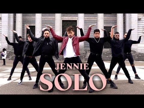 [KPOP IN PUBLIC CHALLENGE] JENNIE 'SOLO' dance (Boys Version - Spain)