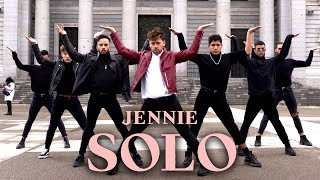 [KPOP IN PUBLIC CHALLENGE] JENNIE SOLO dance (Boys Version - Spain)