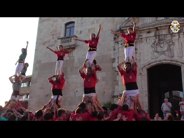 3xP4 Castellers Alt Maresme @ Tordera (25/08/2019)