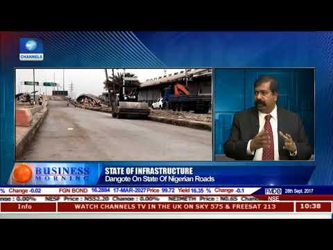 Devakumar Edwin Explains Proposed FG-Dangote Apapa Roads Partnership |Business Morning|