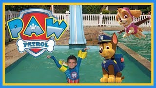 Patrulha Canina | Brincando na piscina | Patrulha Canina em português