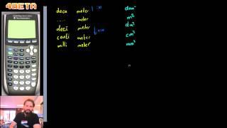 Wiskunde - Omrekenen - meters, vierkante meters en kubieke meters