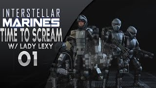Interstellar Marines - Time To Scream!  w/Lady Lexy