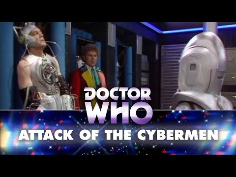 Doctor Who: The Doctor destroys the Cyber Controller - Attack of the Cybermen