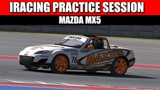 IRacing - Learning the ropes - Practice session