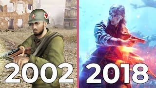 [4K] The Evolution of Battlefield – All games from 2002 to 2018