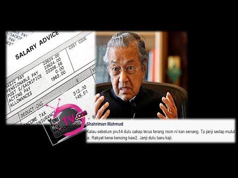 """""""Sebelum PRU14, Terus-Terang Kan Senang"""" - Tun M Jawab Kenapa Gaji Minimum Malaysia Rendah"""