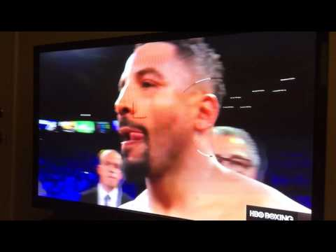 Andre Ward vs Sergey Kovalev 2 Ward with the 8th round TKO