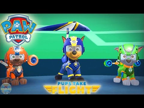 Paw Patrol Despega App Gameplay