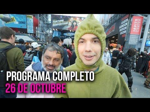 Cinescape 26 De Octubre (programa Completo)
