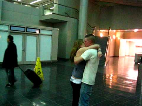 Meeting My Marine At The Airport