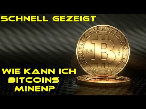 -BITCOIN: Mining Basics German-