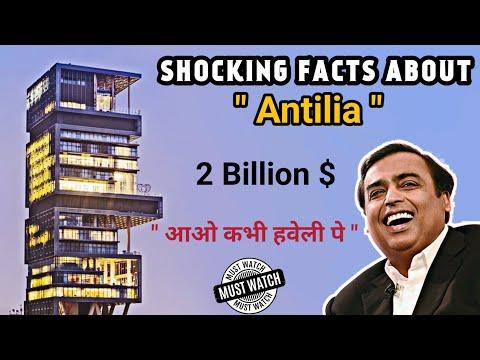 Mukesh Ambani house Antilia | Shocking Facts | Hindi | 2018
