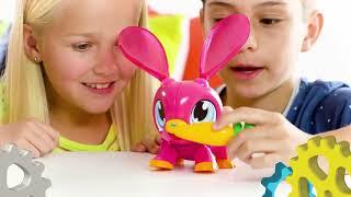 Build Animals Интерактивная игрушка робо-конструктор Динозавр/Лиса/Кролик