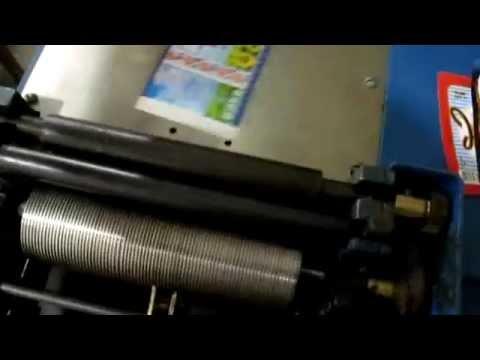 Устройство нанесения клея на сухую бумажную этикетку