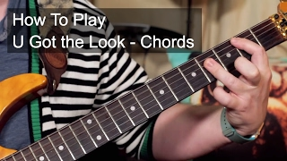 How to Play: 'U Got The Look' Chords - Prince Guitar Lesson