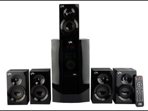 VM Audio 51 Home Surround Sound System  EXMS590T
