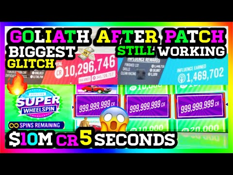 **AFTER PATCH** GOLIATH WORKING AGAIN! Biggest Money Glitch! Forza Horizon 4 Money Glitch (Cr/Xp) thumbnail