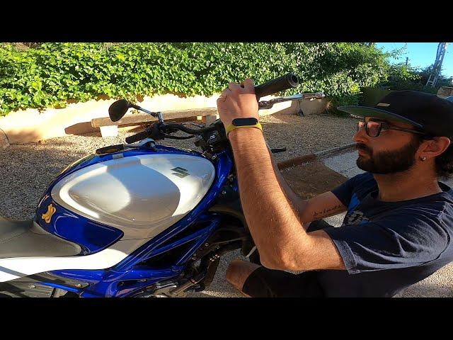Cómo cambiar manillar moto Suzuki Gladius 650