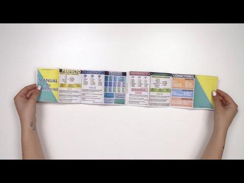 TUTORIAL: como montar un libro acordeón - YouTube