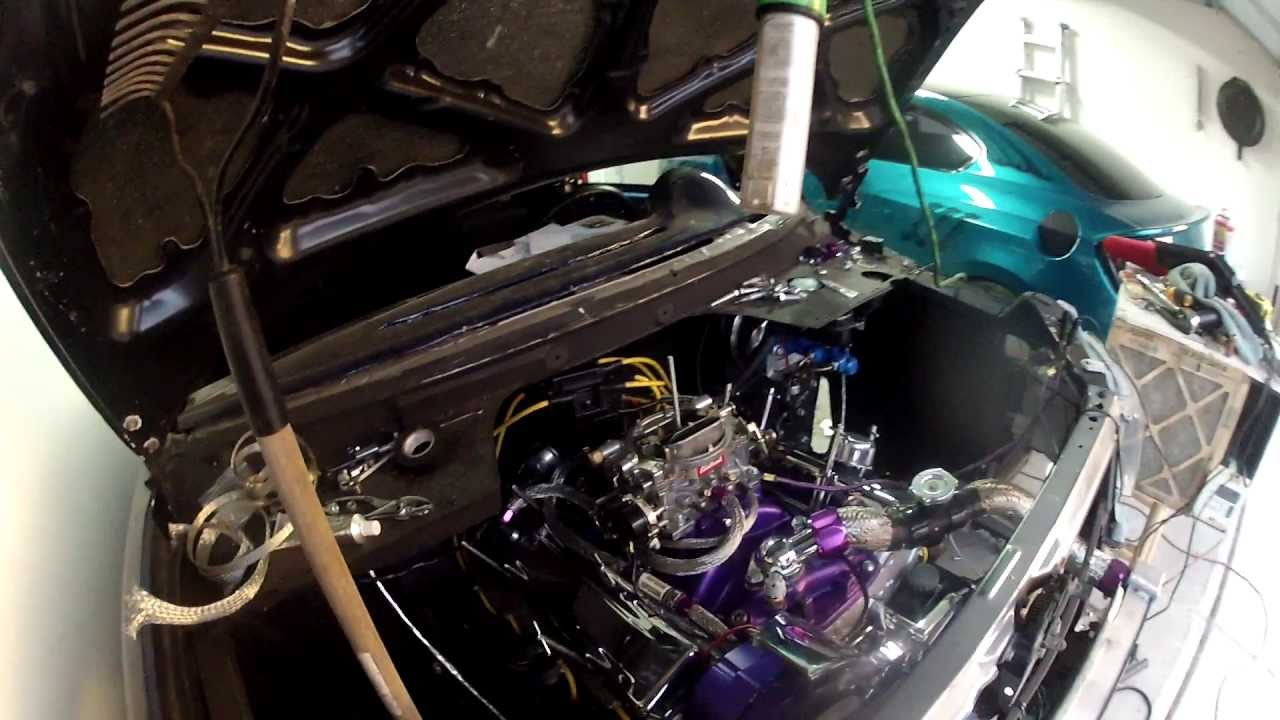 Davids scion xb v 8 conversion part 29 engine dress up and performance upgrades youtube