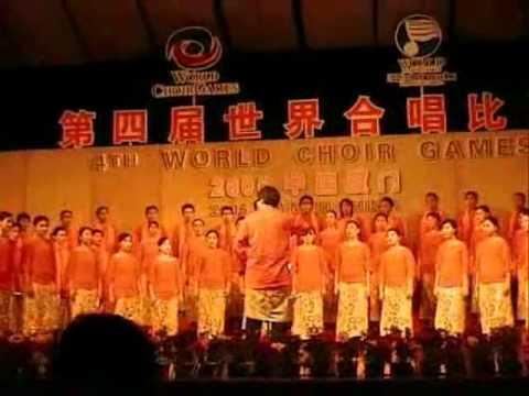ITB Students Choir sings Dum Belle