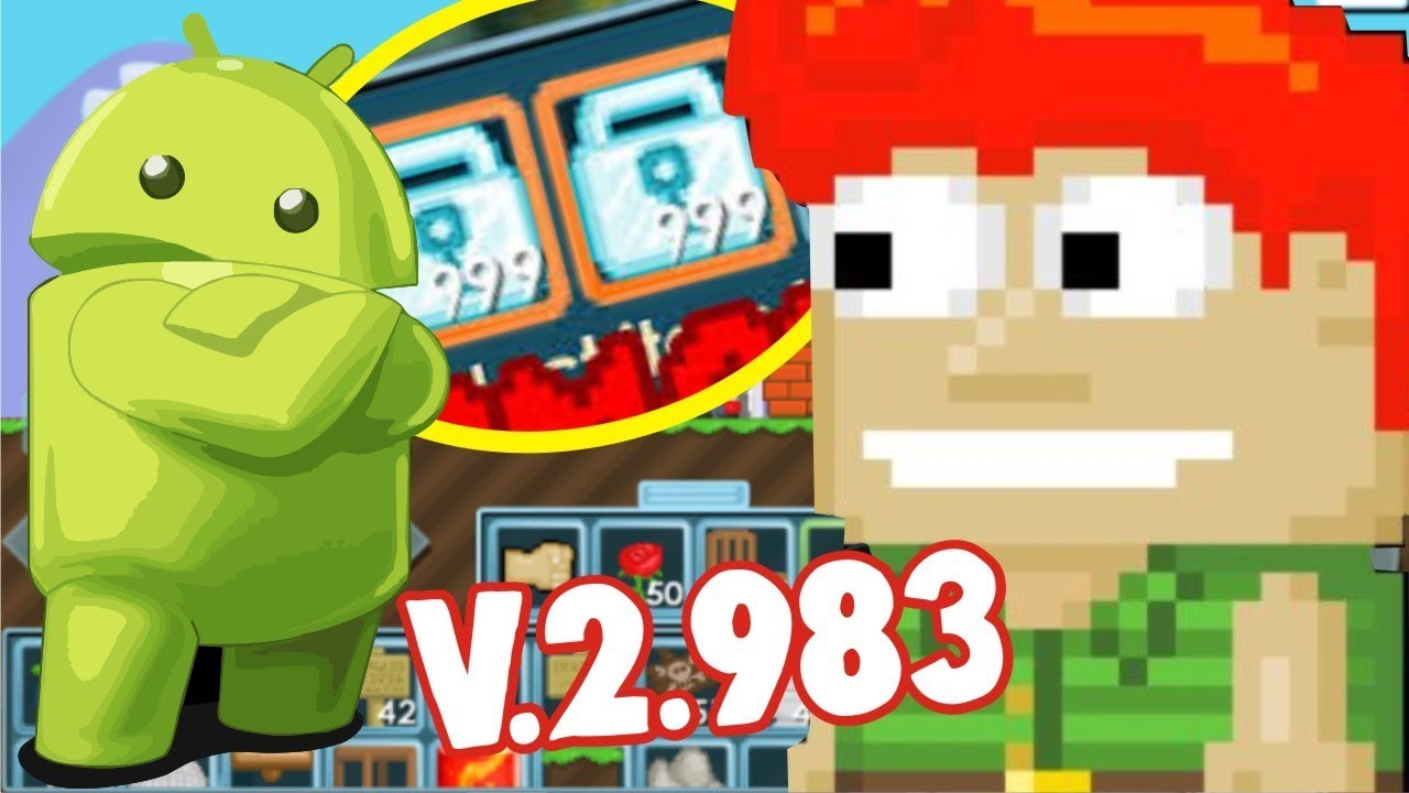 [RICH] Growtopia MOD APK 2018 v.2.983 | JUST on ANDROID