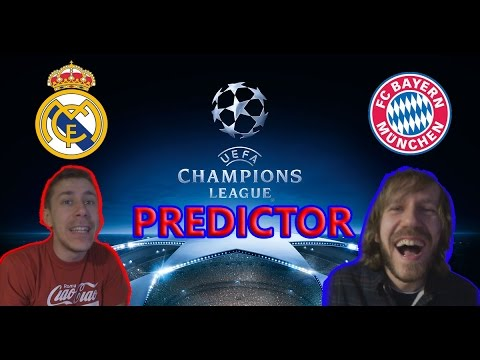 REAL SIGURNO PROLAZI?! - UCL PREDICTOR - REAL MADRID vs BAYERN MÜNCHEN