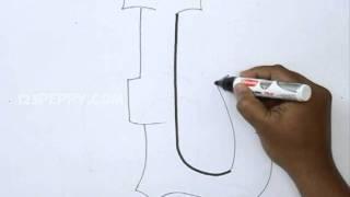 How to Draw Graffiti Letter L