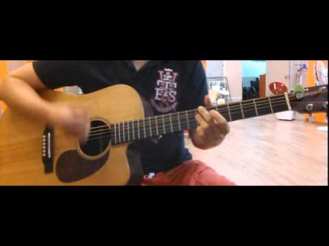 how to play foxy lady on acoustic guitar