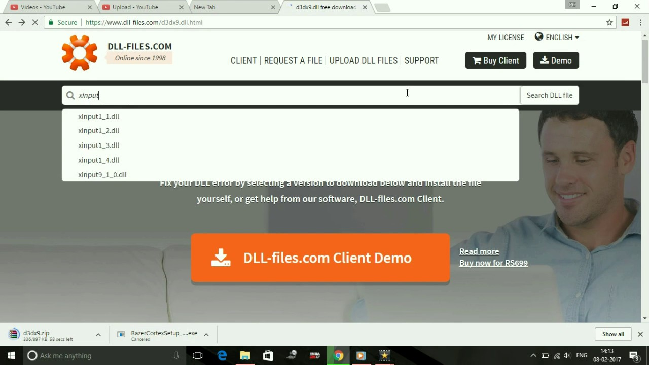 what is dll files com client