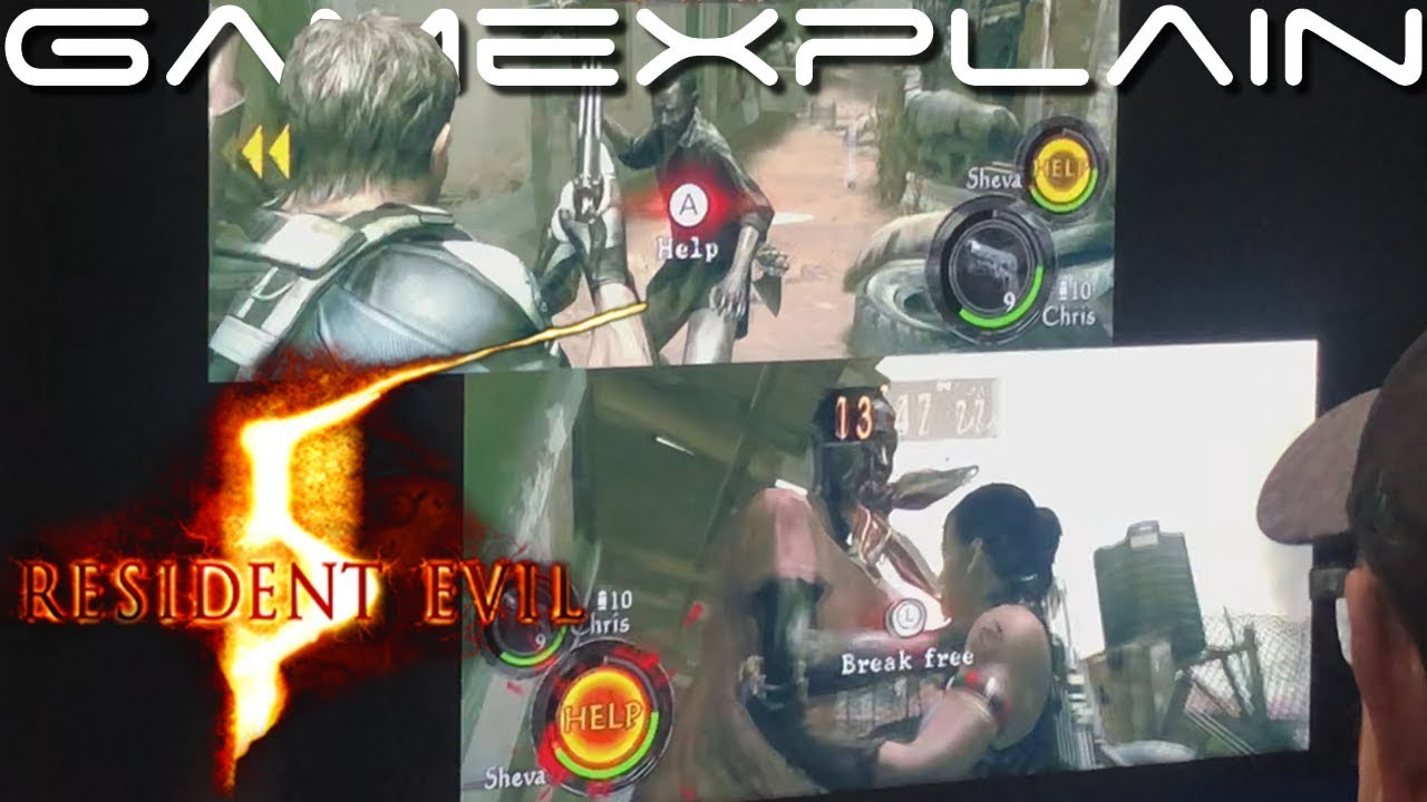 Resident Evil 5 For Nintendo Switch Co Op Gameplay Sdcc 2019 Youtube