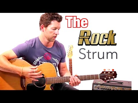 Beginner Strumming Pattern 1 - Rock Strum Guitar Lesson with Mark McKenzie