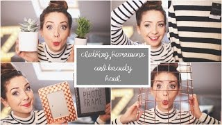 Clothing, Homeware & Beauty Haul | Zoella