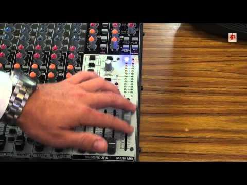 MESAS DE MEZCLAS DE AUDIO   Mesa XENYX 2442FX y Micro inalámbrico Shure PGX4