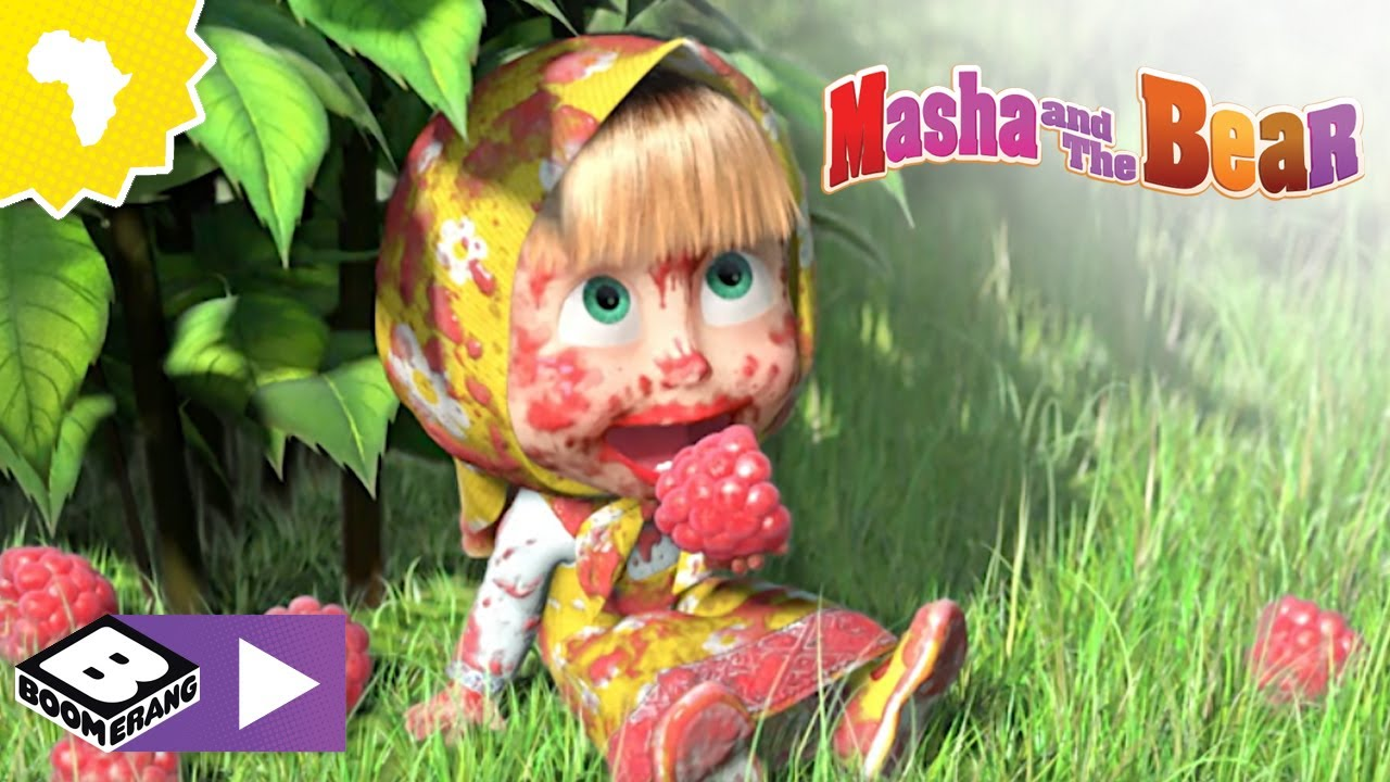 Masha and the Bear    Song of Cleanliness 🎵   Boomerang Africa
