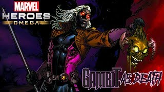 Marvel Heroes Omega GAMBIT AS DEATH Deck of Judgment Live Stream (Playstation 4)