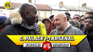 Crystal Palace 1-1 Arsenal | Credit To The Team For Not Falling Apart After The Red! (Claude)