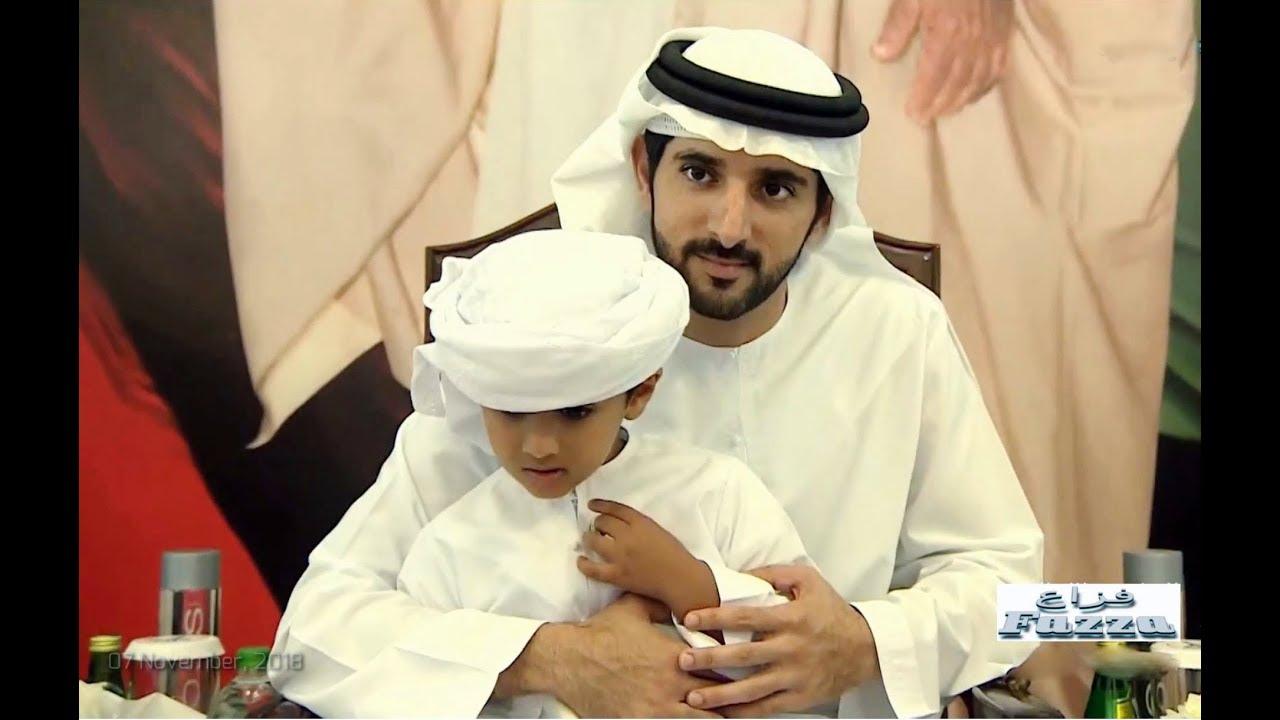 Sheikh Hamdan ( فزاع Fazza) attends wedding reception in Abu Dhabi (7  November, 2018)