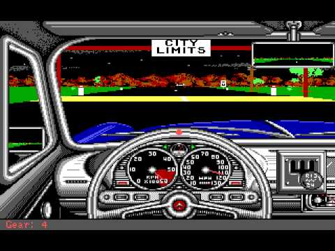 Street Rod (PC/DOS) Longplay, 1989, California Dreams