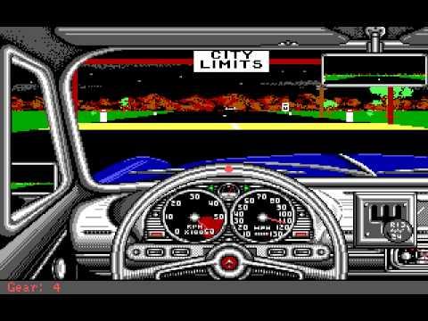 Street Rod (PC/DOS) Longplay, 1989, California Dreams