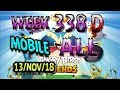 Angry Birds Friends Tournament All Levels Week 338-D MOBILE Highscore POWER-UP walkthrough