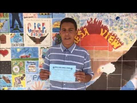 Mesa View 8th Grade Electives Video