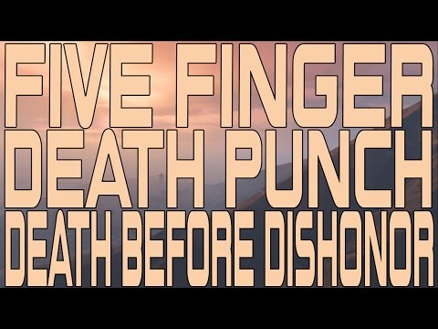 Five Finger Death Punch - Death Before Dishonor (Instrumental Cover)